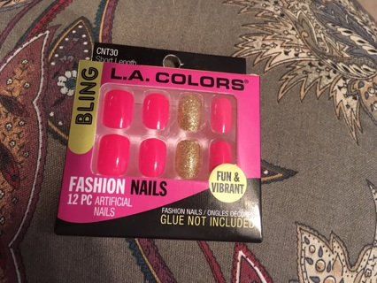 L A colors fashion nails