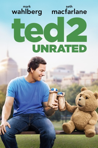 Ted 2 (unrated) HD digital copy code Movies Anywhere