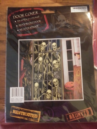 Skeleton Door Cover