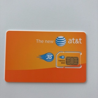 AT&T Micro SIM CARD • New • See Description • Free Shipping