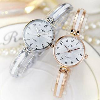 Women Luxury Stainless Steel Watch waterproof Quartz Analog Business Wristwatch