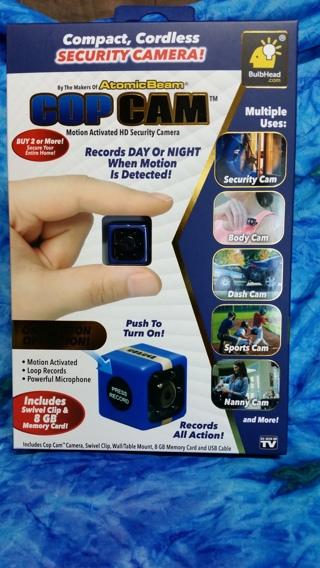 "**USA Seller* ""COP CAM"" Mini HD Camera"