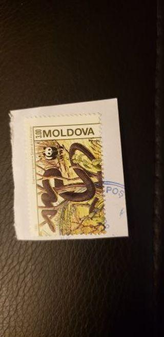 Maldova stamp. Used