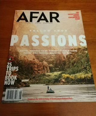Afar July/August 2019 Follow Your Passions