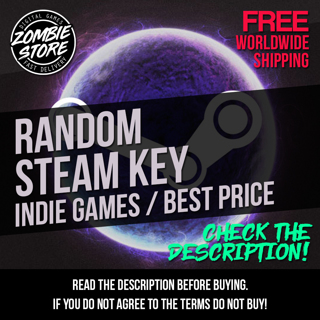 Random Steam Key - Try Your Luck Now! / Fast Delivery **LOWEST GIN**