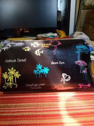 Victoria's Secret neon Paradise makeup bag