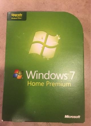 Window 7 home premium upgrade