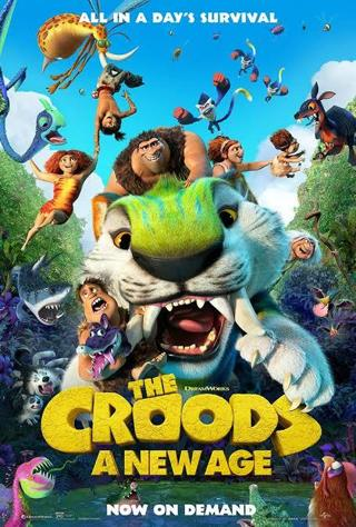 The Croods: A New Age (HD) Movie code NEW