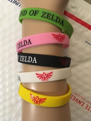 1 new Legend of ZELDA Video Game Theme wristband bracelet NINTENDO