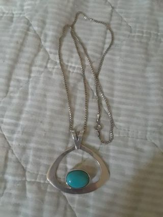 ~》 Vintage Turquoise Necklace 《~