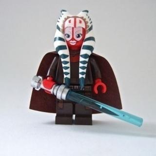 Shaak Ti Star Wars Jedi Minifig Custom Minifigures Blocks Bricks Building Toys