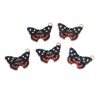 2 Butterfly Charms