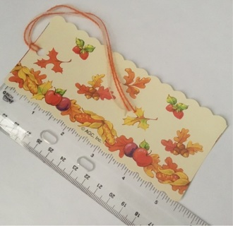 U.S. only/Small book mark