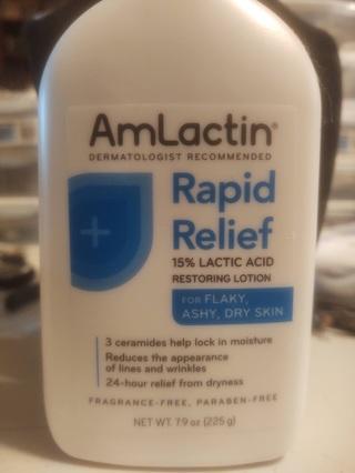 AmLactin Rapid Relief Lotion 7.9oz