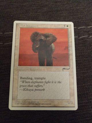 MTG War Elephant