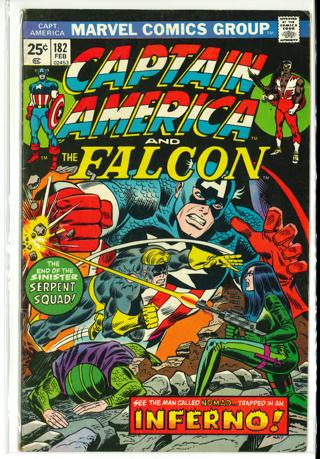Captain America # 182
