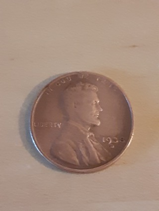 1938-D Lincoln Wheat Penny In A Protective Holder
