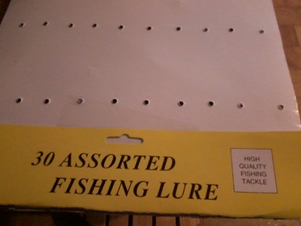 MYSTERY AUCTION BRAND NEW FISHING LURE AUCTION