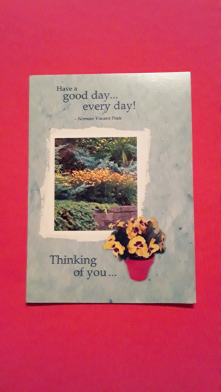 Positive Thinking Card