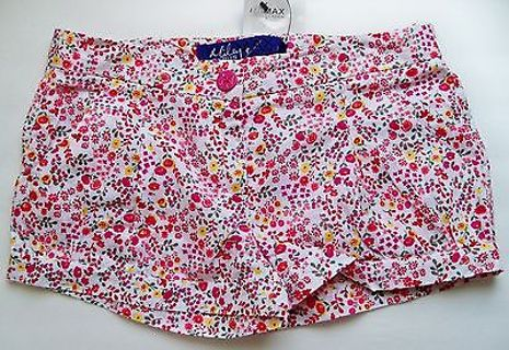 NWT Womens Short Shorts Miley Cyrus MAXX Azria Super Cute Womens Floral Shorts FREE SHIPPING