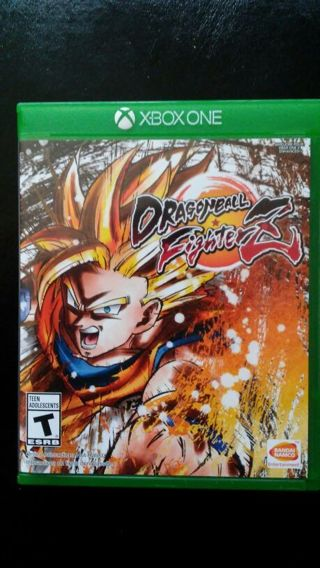 Dragonball fighter Z for xbox one