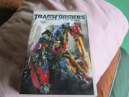 transformers movie /dvd