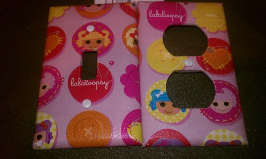 Free: Lalaloopsy Switchplate And Outlet Cover Set Girls