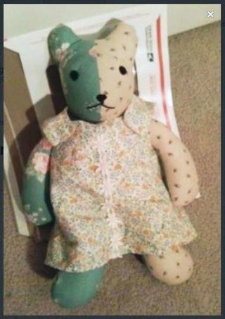 Memory Bear with Dress Teddy Bear FREE SHIPPING