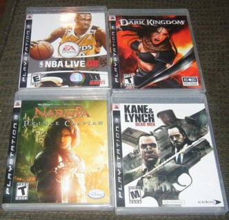 Huge LOT of NEW Sony PS3 games - GREAT FOR CHRISTMAS - Bonus with GIN!