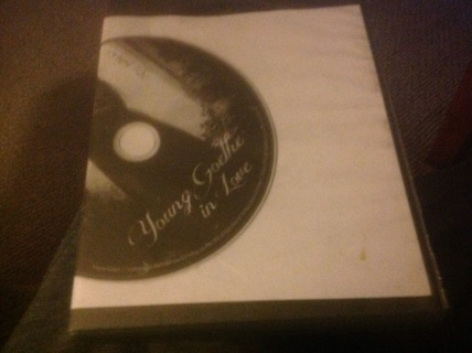 DVD- YOUNG GOETHE IN LOVE by MUSIC BOX FILMS