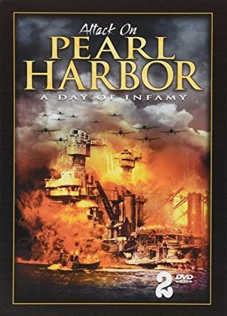 Attack on Pearl Harbor A day of Infamy dvd 2 disc set