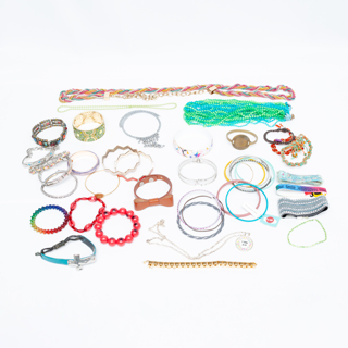 40 pcs of Fashion Costume Jewelry for Crafting Findings Destash