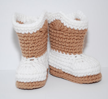 Free Free Crochet Pattern For Custom Made Cowboy Baby Booties That