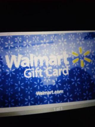 $2.00 Walmart e gift card