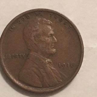 1916 wheat cent
