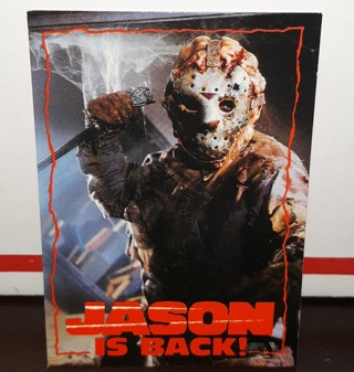 Rare - Jason Goes To Hell 1993 Promo Card (Topps)