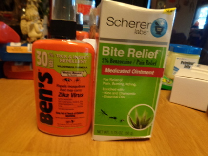 repellent and relief