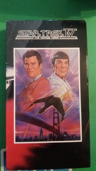 vhs star trek  the voyage home free shipping