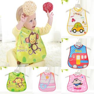 Oklady Baby Bibs Waterproof Feeding Bibs Baby Cartoon Feeding Cloth Children Baby Apron For Kids G
