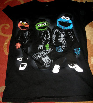 Free: sesame street oscar elmo cookie monster gangster ...  Elmo And Cookie Monster Gangster