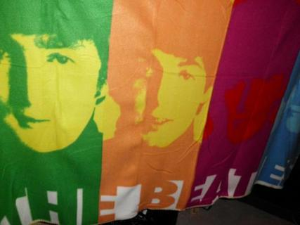NEW BEATLES THROW BLANK ...GREAT GIFT