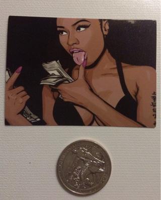 1 New  Nicki Minaj Keeping it 100%  Decal Sticker