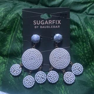 READ* Sugarfix Lilac & Marble Baublebar Earrings