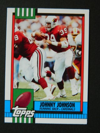 1990 Topps JOHNNY JOHNSON #104T Rookie RC (M/NM) Phoenix Cardinals RB - FREE Shipping!
