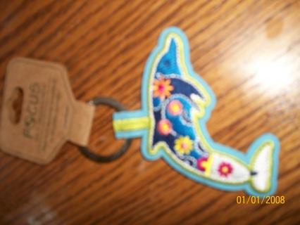 dolphin key chain