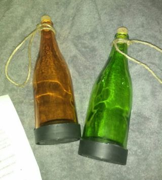 Solar Light Bottles..pictures explain