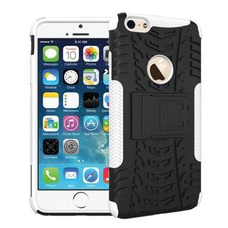 NEW iPHONE 6 PLUS HYBRID CELLPHONE Case Scratch Resistant Shock Absorbent Non Slip Tire Grip Stand