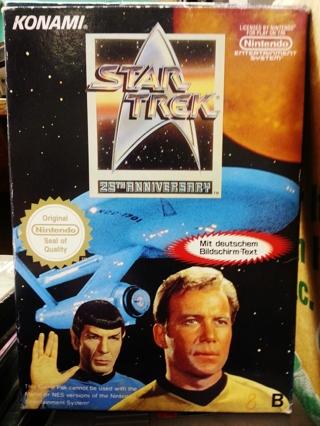 NES Star Trek 25th Anniversary Rare!! (Europe Edition)