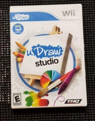 U Draw Studio Wii