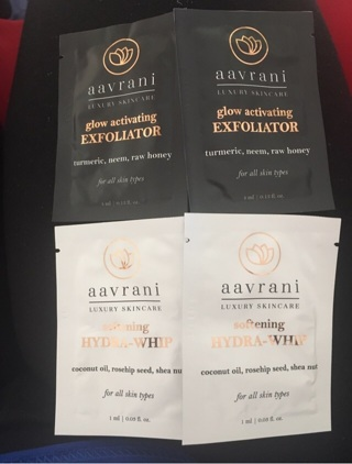 4 beauty aavrani samples